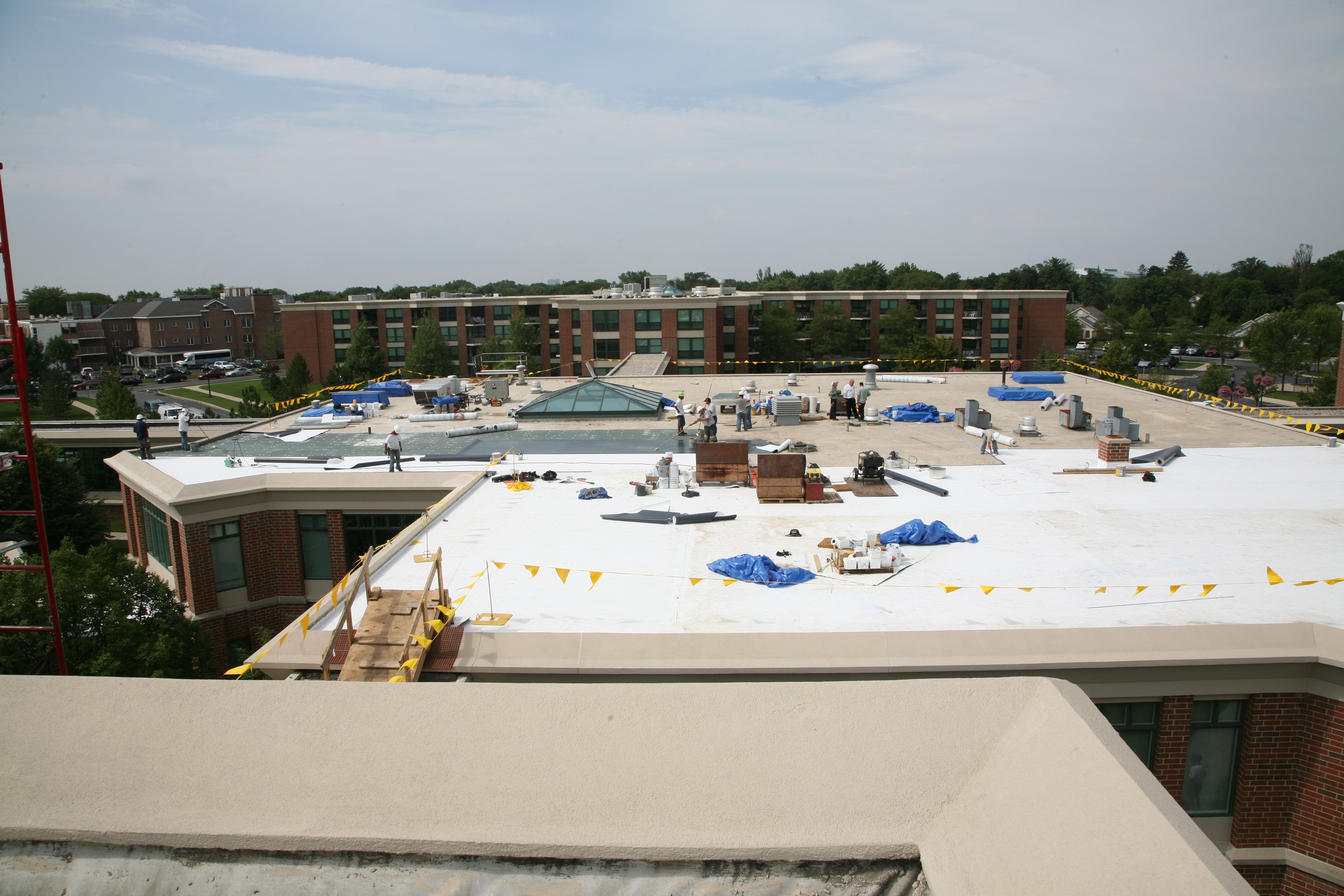 Retirement Complex Roofs Stay Current Bott Roofing