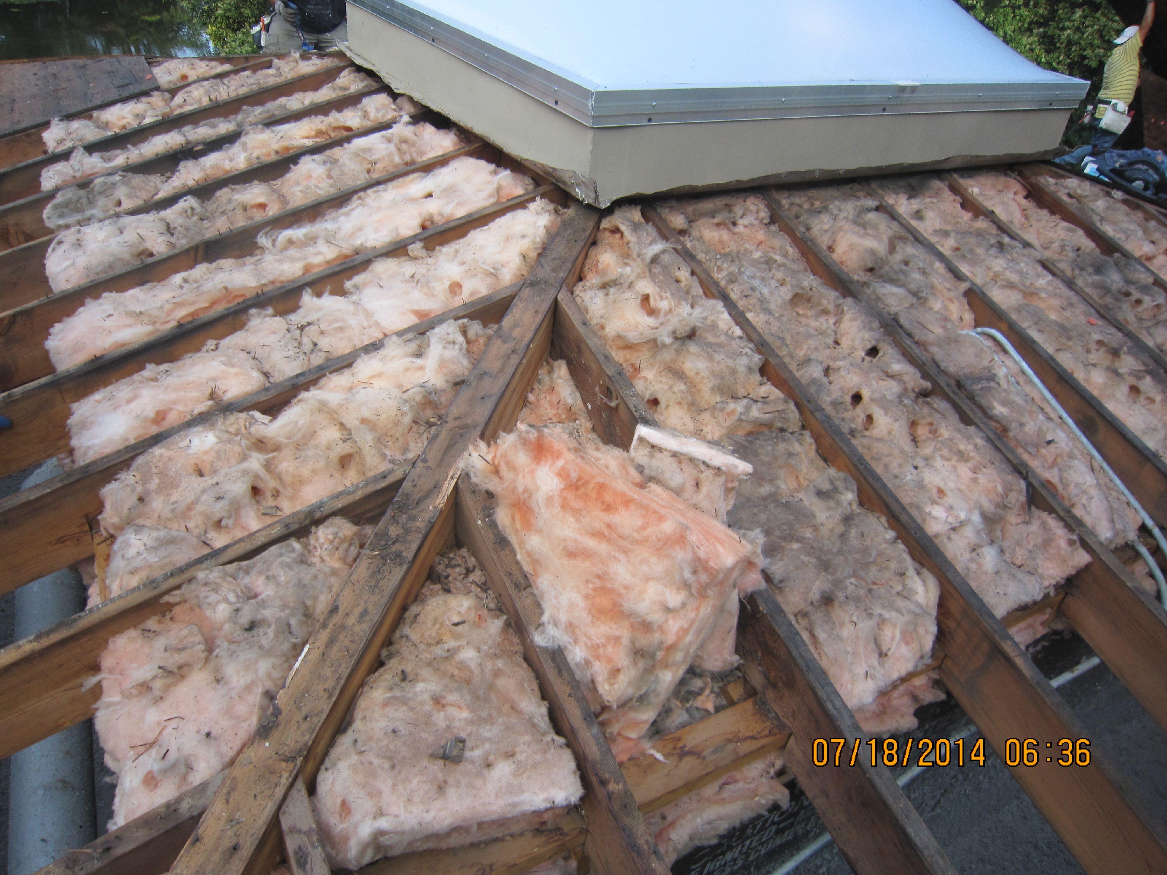 New Roof With Spray Foam Insulation Bott Roofing