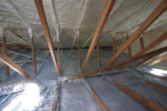 Attic Condensation Black Mold And Spray Foam Bott Roofing